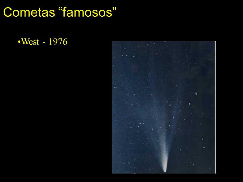 Cometas famosos •West - 1976