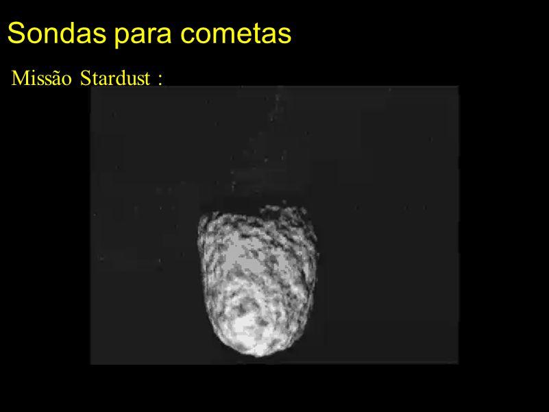 Sondas para cometas Missão Stardust :