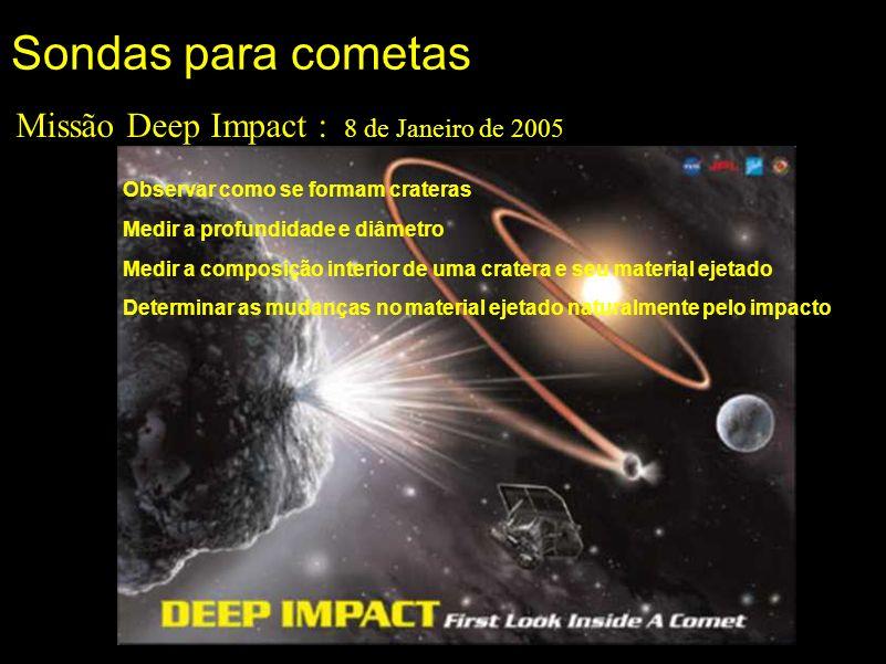 Missão Deep Impact : 8 de Janeiro de 2005