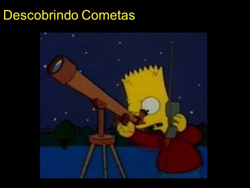 Descobrindo Cometas