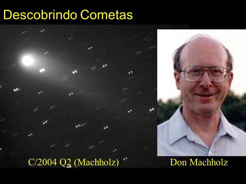 Descobrindo Cometas C/2004 Q2 (Machholz)) Don Machholz