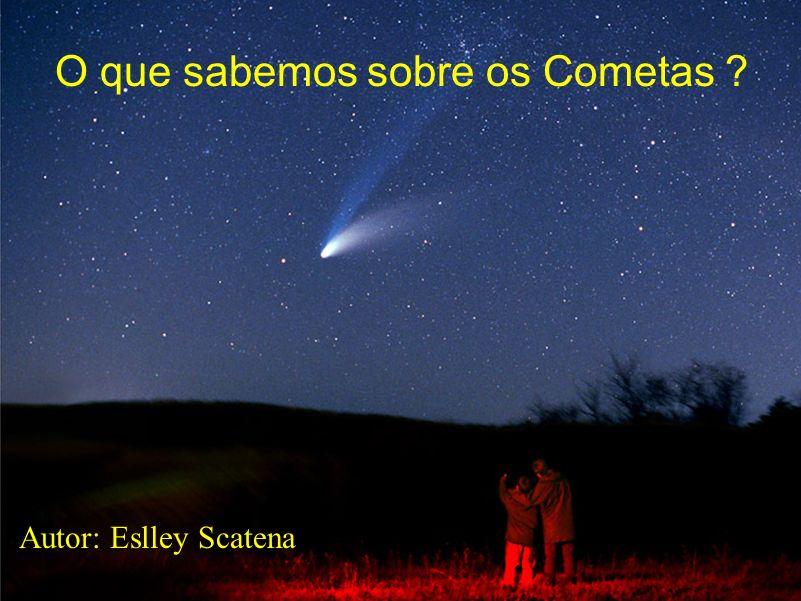 O que sabemos sobre os Cometas