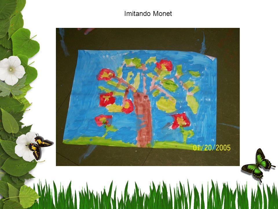 Imitando Monet