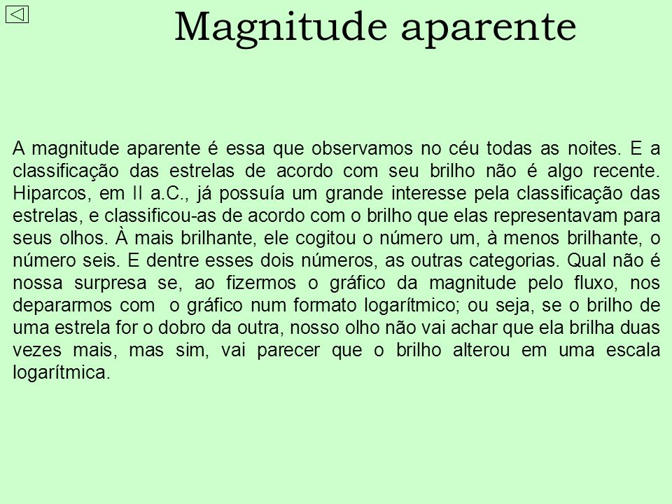 Magnitude aparente