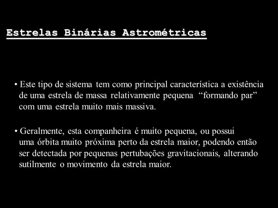 Estrelas Binárias Astrométricas