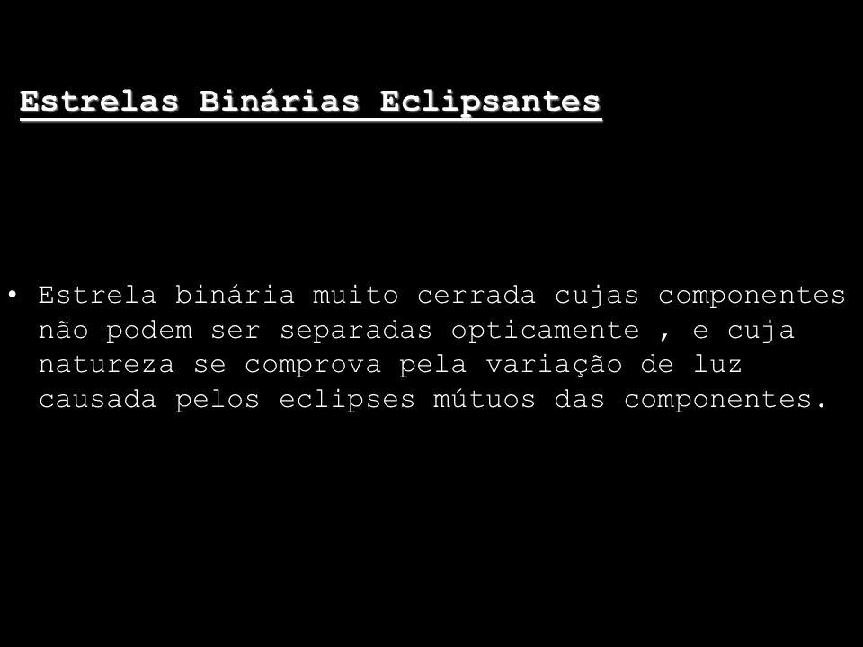 Estrelas Binárias Eclipsantes
