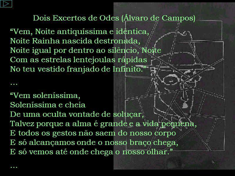 Dois Excertos de Odes (Álvaro de Campos)