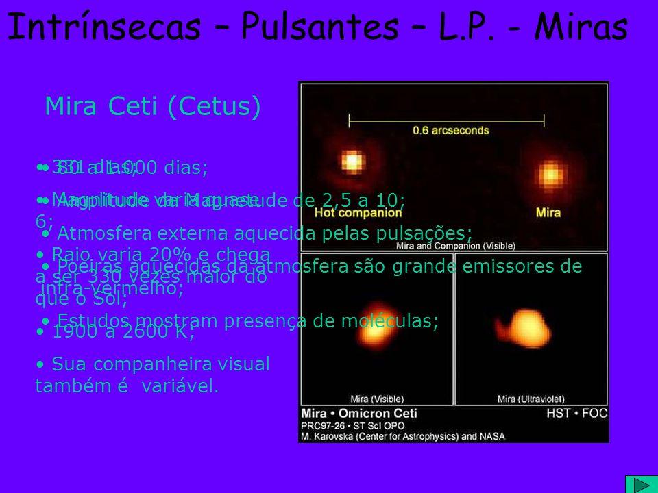 Intrínsecas – Pulsantes – L.P. - Miras