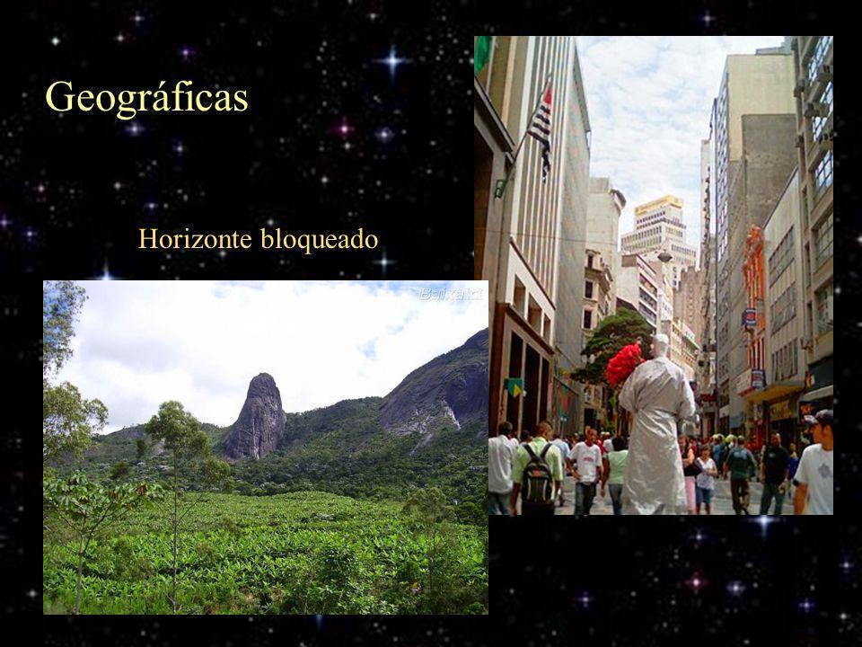Geográficas Horizonte bloqueado