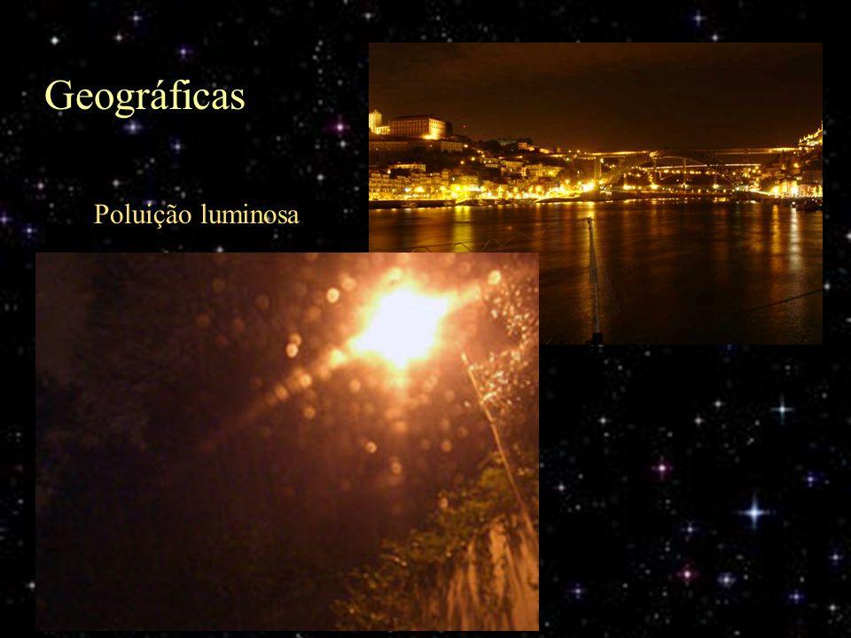 Geográficas Poluição luminosa