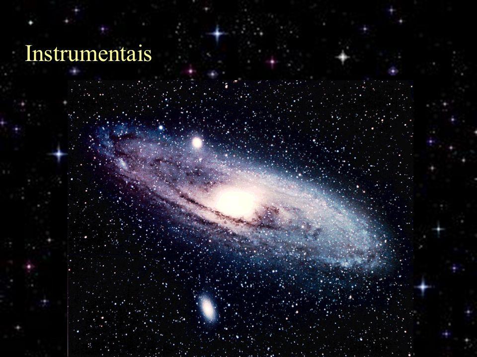 Instrumentais Aqui vemos mais um exemplo de imagem que muitos astrônomos amadores esperam ver com seus telescópios, e que na verdade...