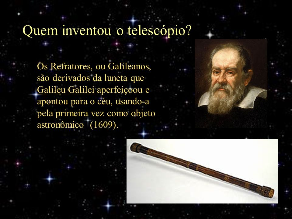 Quem inventou o telescópio