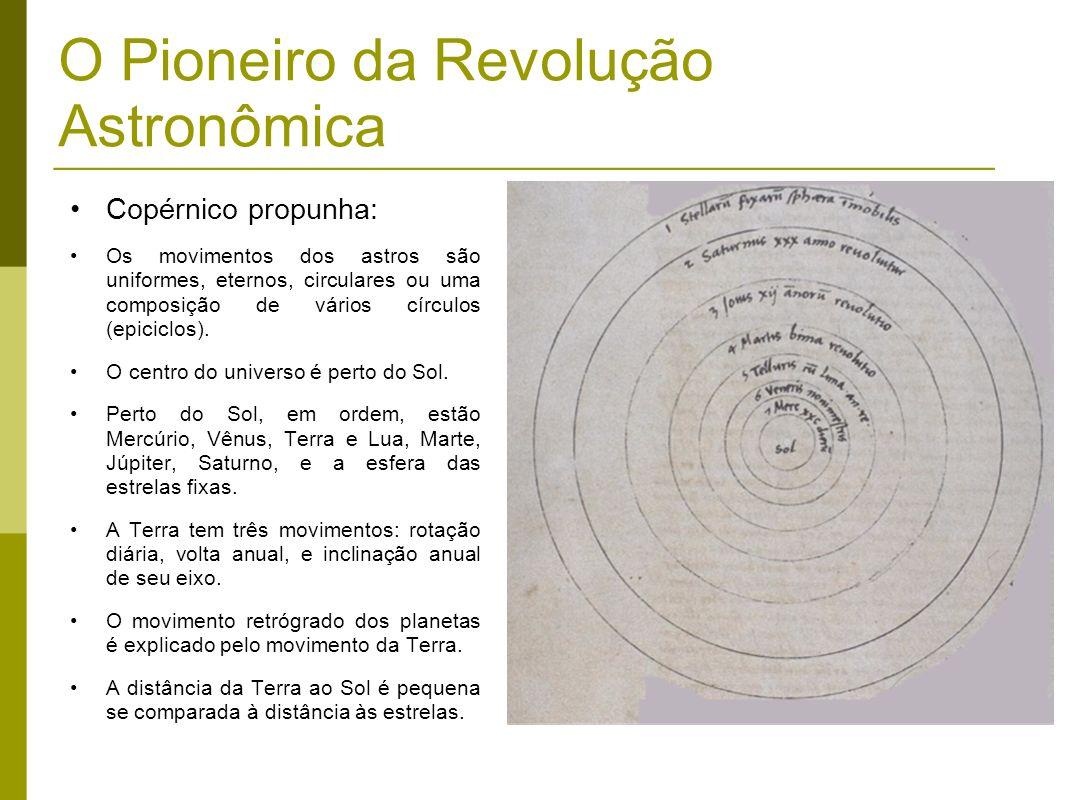 O Pioneiro da Revolução Astronômica