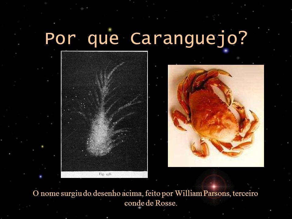 Por que Caranguejo imagem esquerda: http://www.seds.org/messier/more/m001_rosse.html. imagem direita: http://comidas.tipos.com.br/arquivo/2002/09.