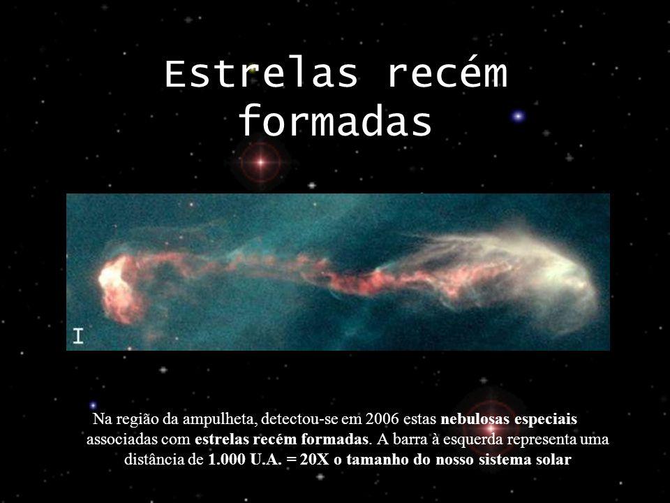 Estrelas recém formadas