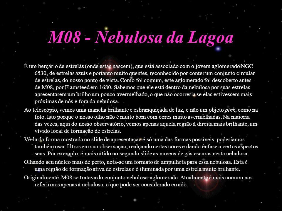 M08 - Nebulosa da Lagoa
