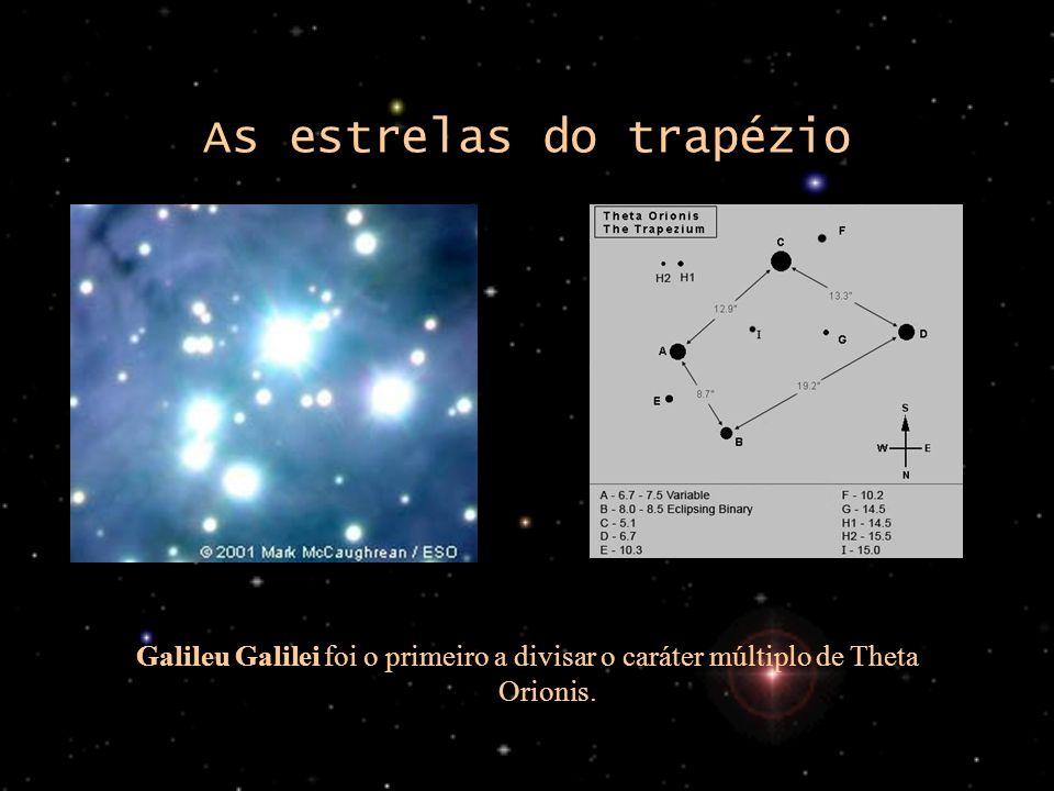 As estrelas do trapézio