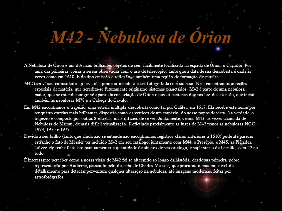 M42 - Nebulosa de Órion
