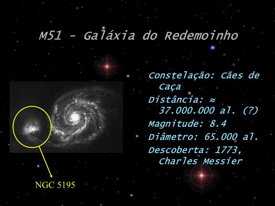 M51 - Galáxia do Redemoinho