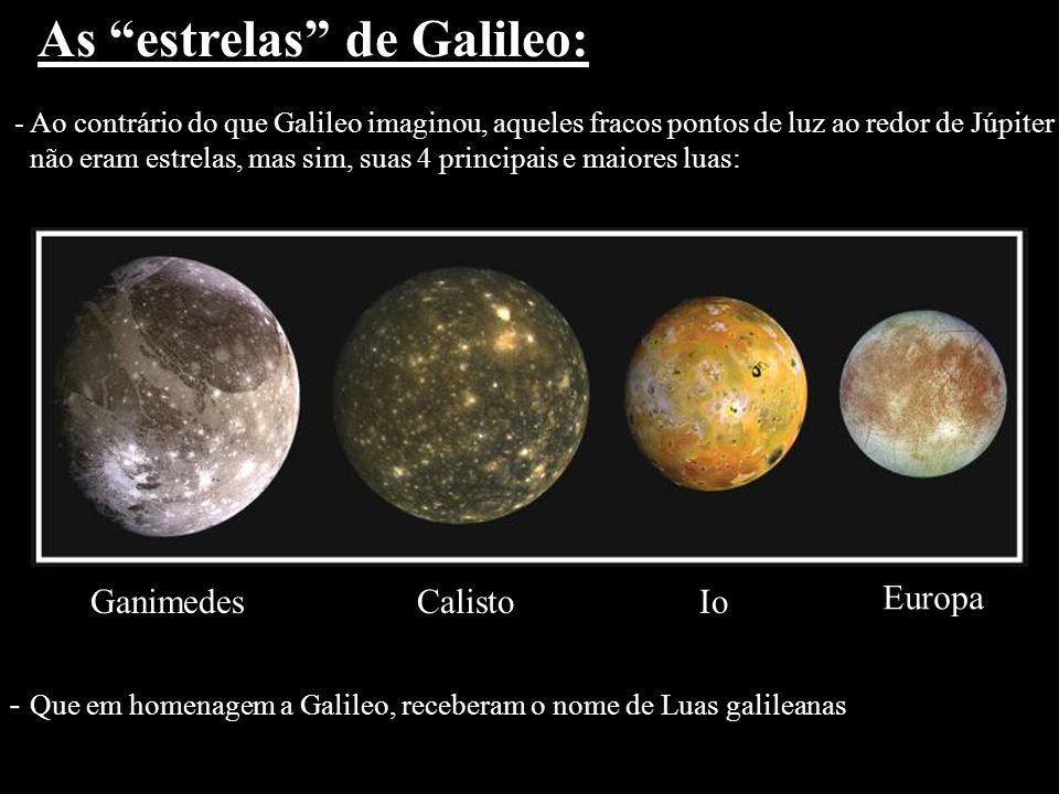 As estrelas de Galileo: