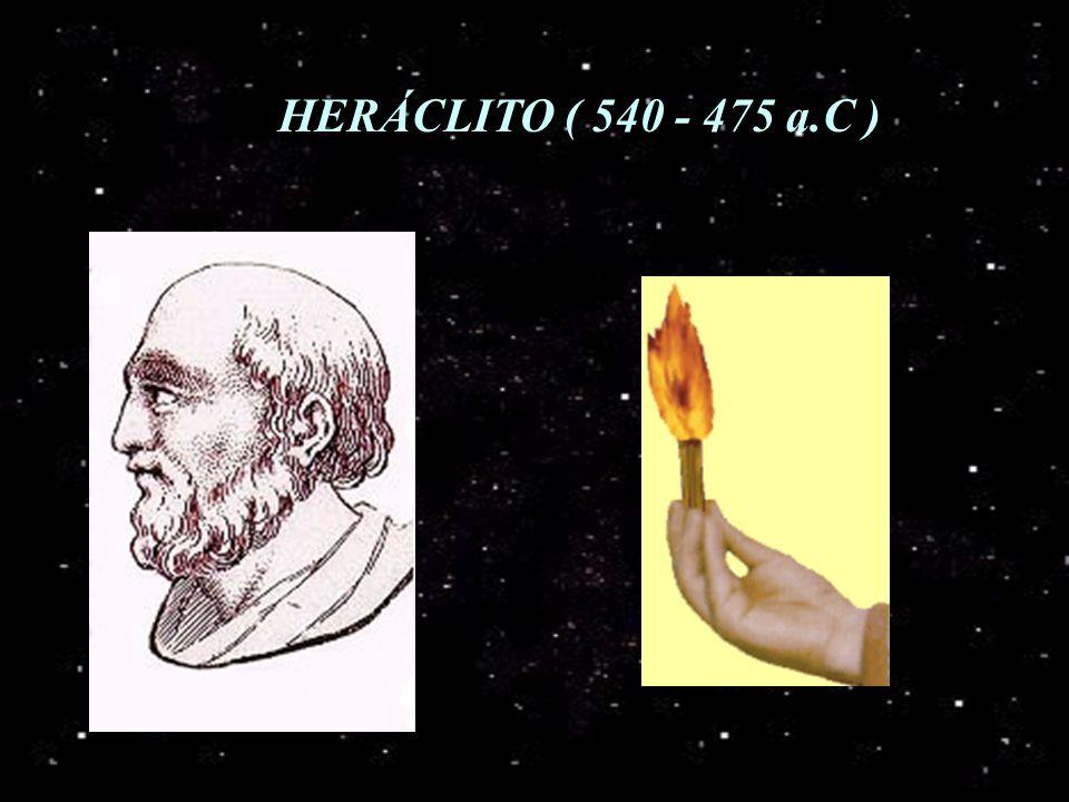 HERÁCLITO ( 540 - 475 a.C )