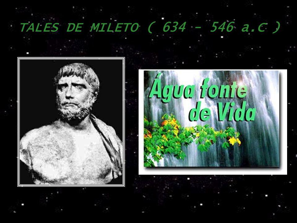 TALES DE MILETO ( 634 - 546 a.C )