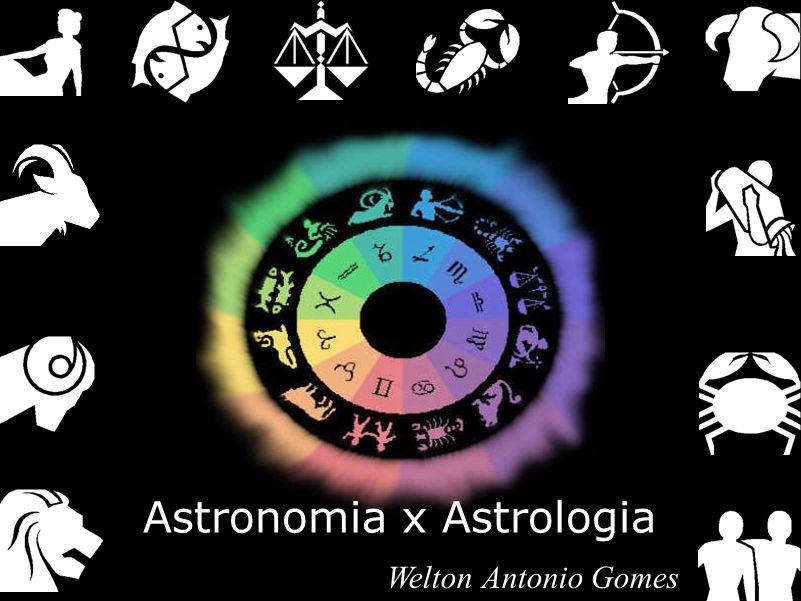 Astronomia x Astrologia