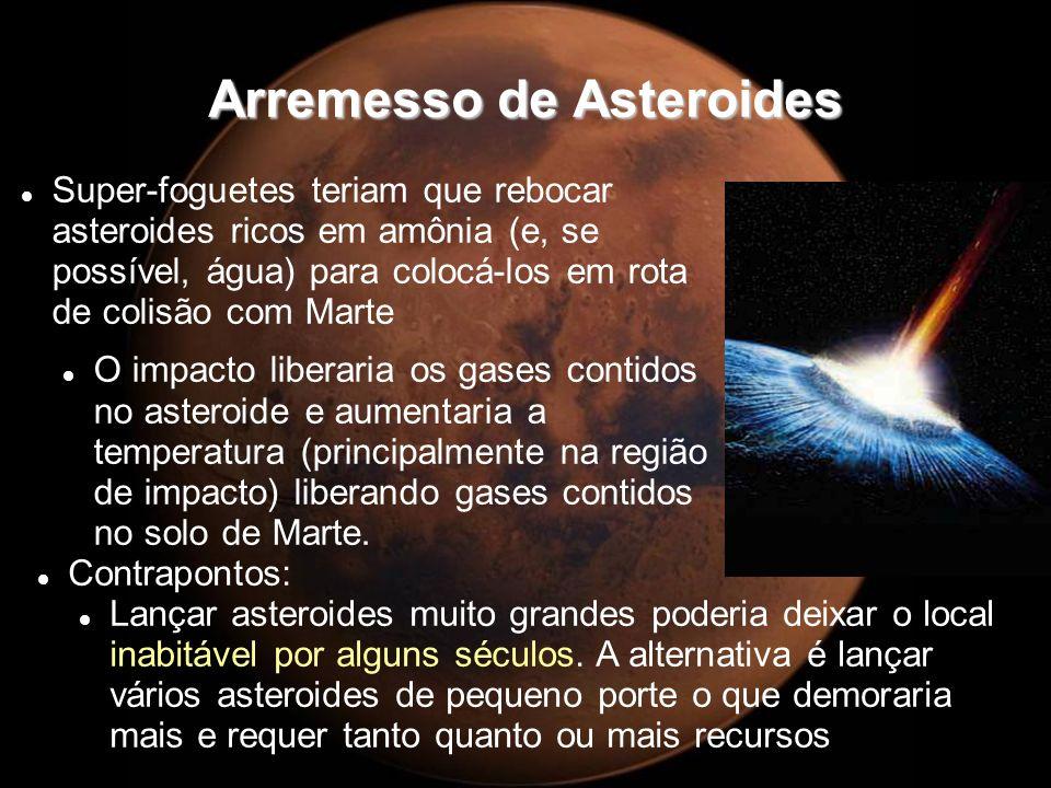 Arremesso de Asteroides