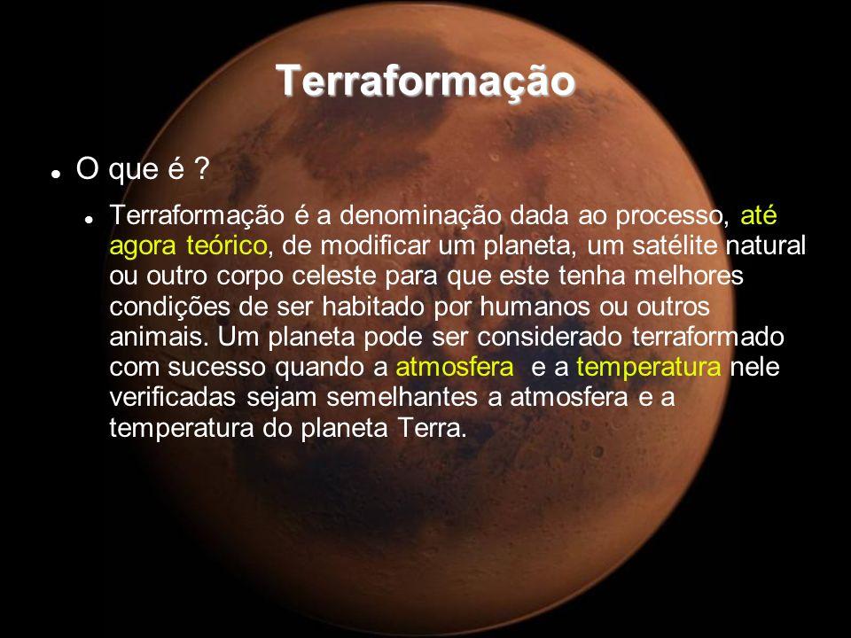 Terraformação O que é