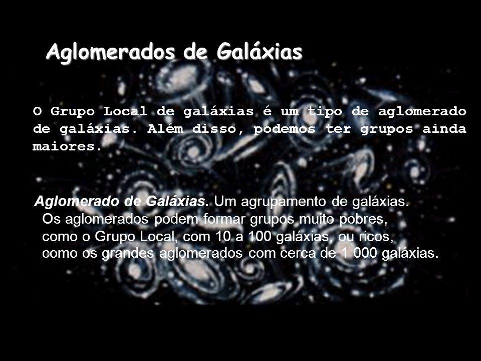 Aglomerados de Galáxias