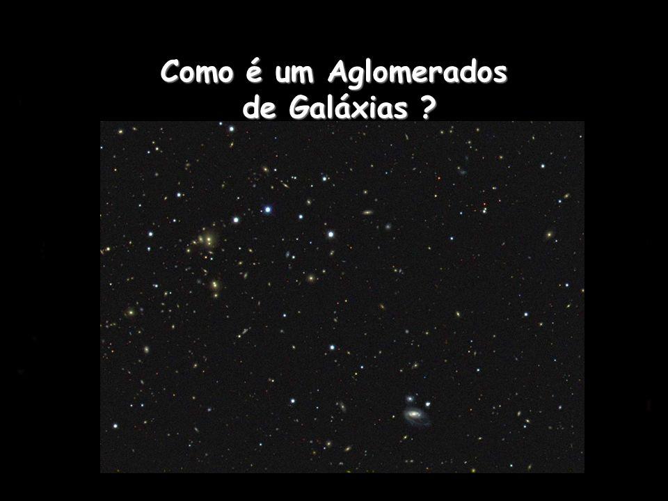 Como é um Aglomerados de Galáxias