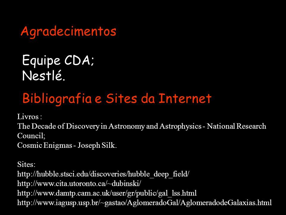 Bibliografia e Sites da Internet