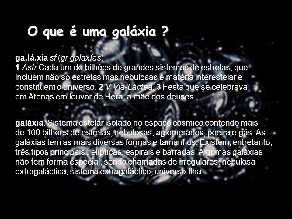O que é uma galáxia