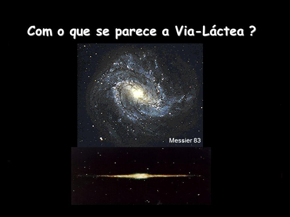 Com o que se parece a Via-Láctea