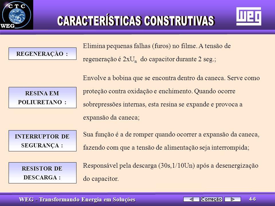 RESINA EM POLIURETANO : INTERRUPTOR DE SEGURANÇA :
