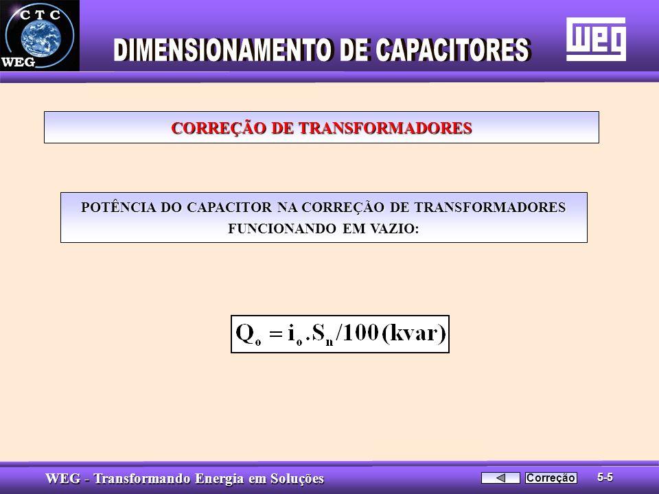 CORREÇÃO DE TRANSFORMADORES