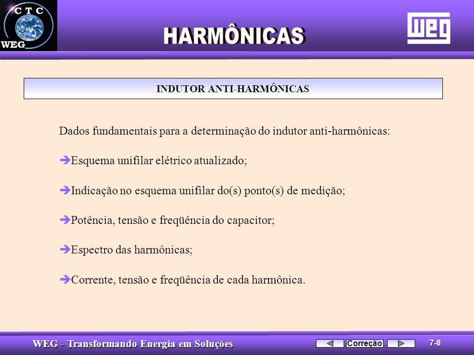 INDUTOR ANTI-HARMÔNICAS