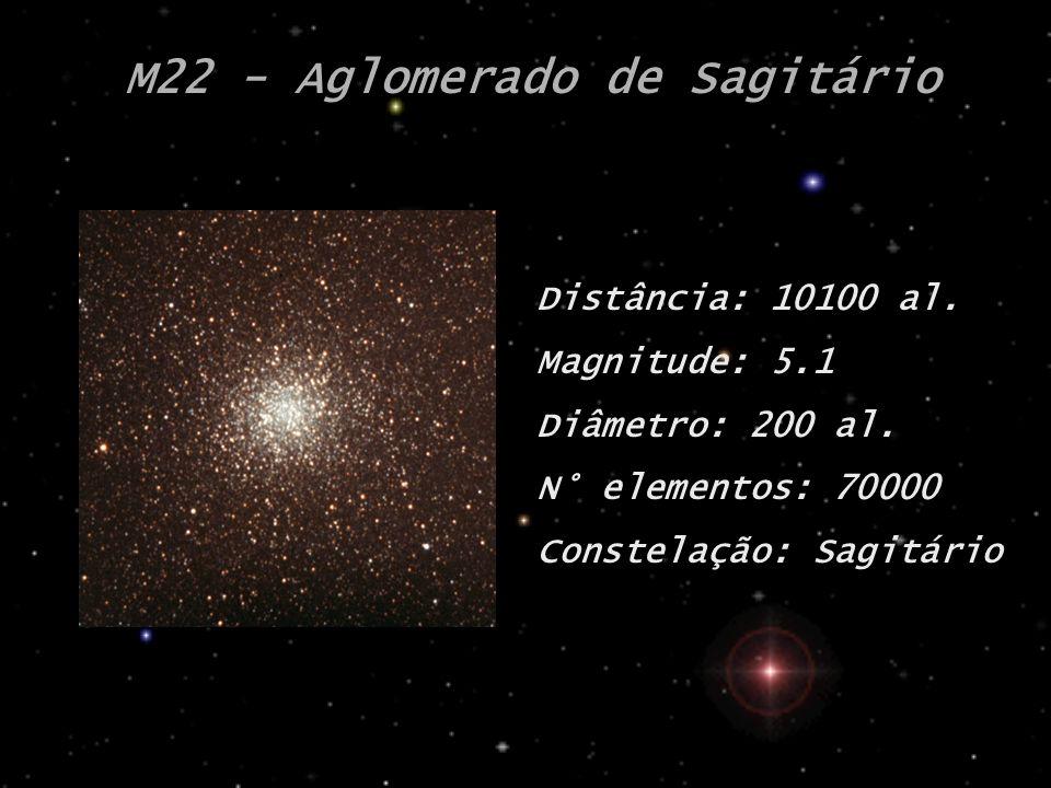 M22 - Aglomerado de Sagitário