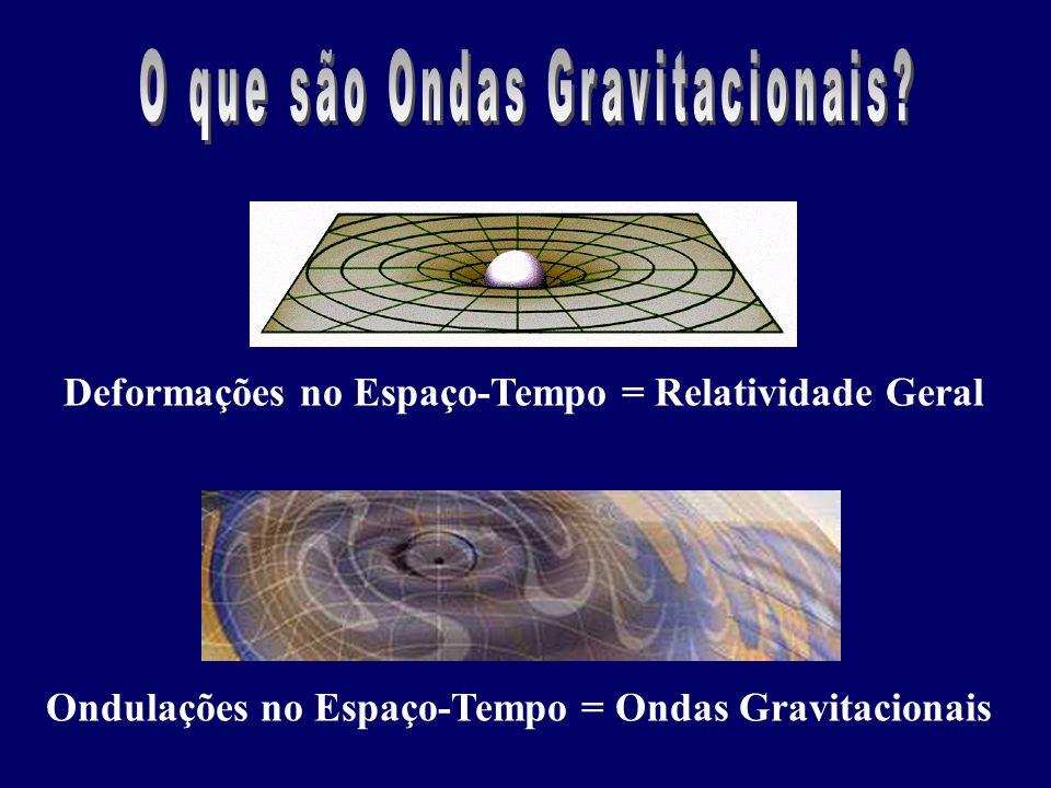 O que são Ondas Gravitacionais