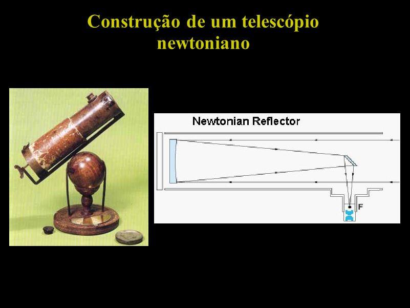 Construção de um telescópio newtoniano