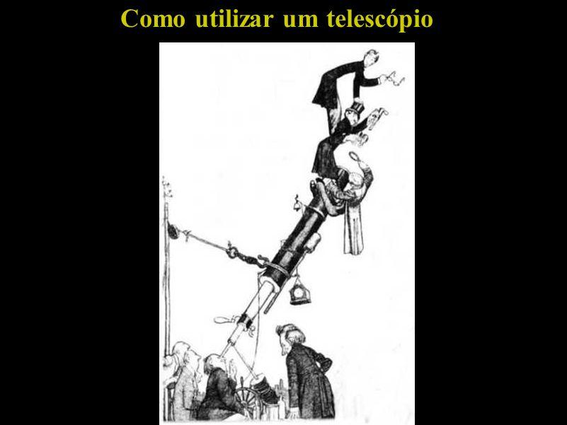 Como utilizar um telescópio