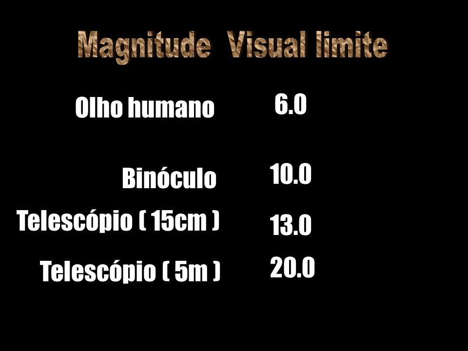 Magnitude Visual limite