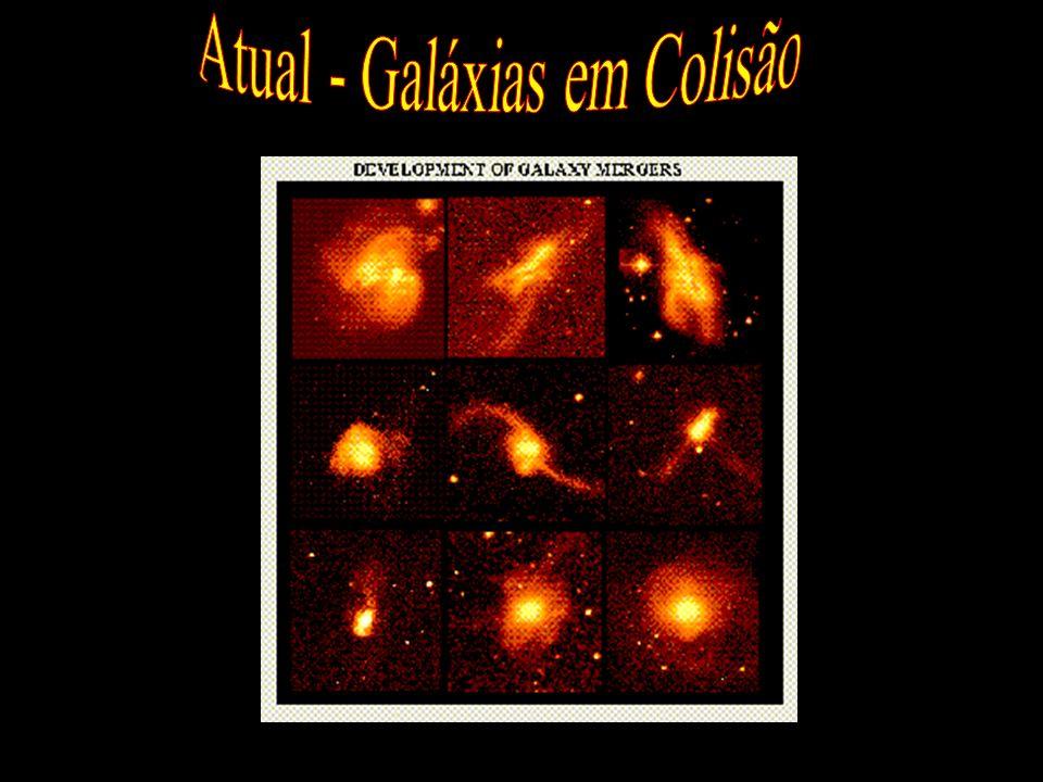 Atual - Galáxias em Colisão