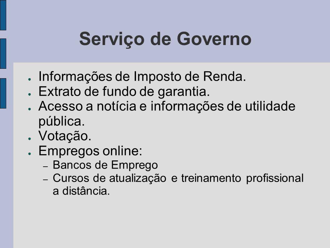 Serviço de Governo Informações de Imposto de Renda.