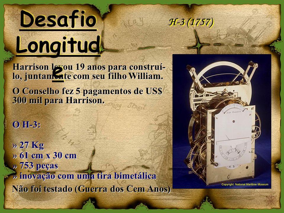 Desafio Longitude H-3 (1757)