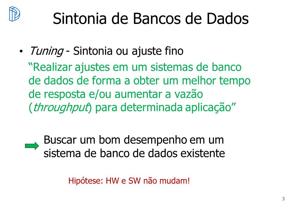 Sintonia de Bancos de Dados