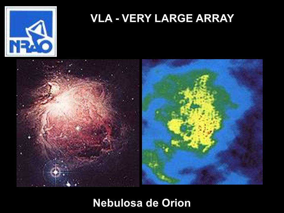 VLA - VERY LARGE ARRAY Nebulosa de Orion