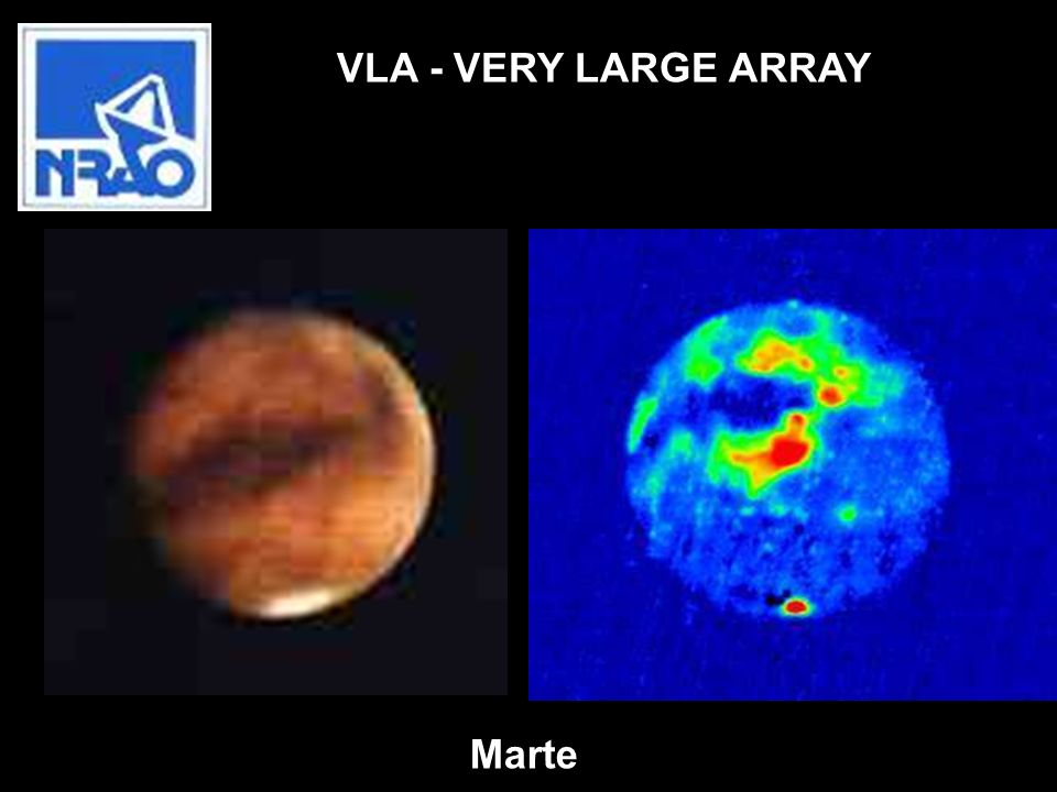 VLA - VERY LARGE ARRAY Marte