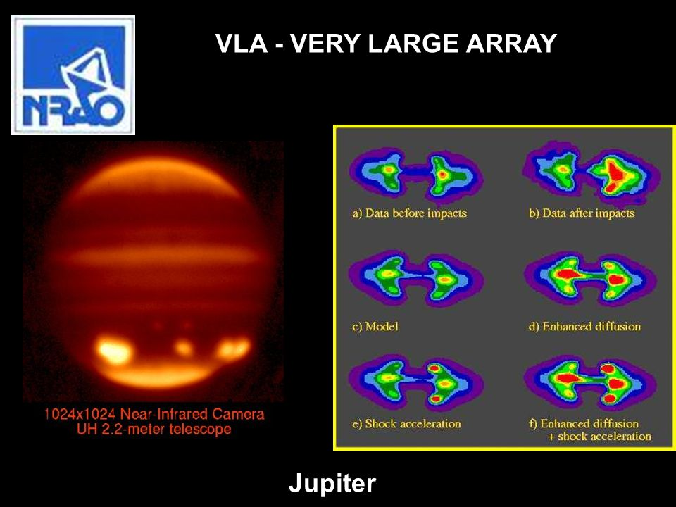VLA - VERY LARGE ARRAY Jupiter
