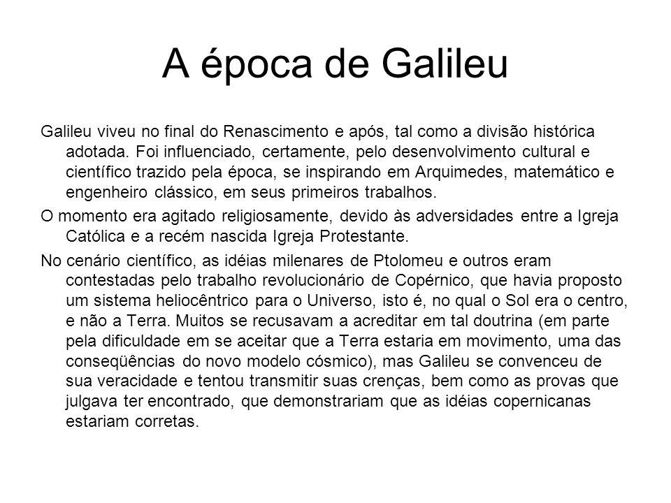 A época de Galileu